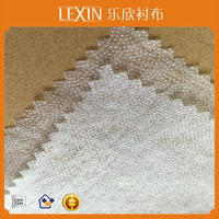 100 polyester nonwoven fusible hot rolling interlining/interfacing/lining for wholesale
