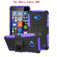 Top seller mobile phone back cover for Nokia Lumia 430,for Nokia Lumia 430 back cover with kickstand