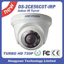 Hikvision waterproof 720P security camera cctv camera Indoor IR Turret Camera DS-2CE56C0T-IRP