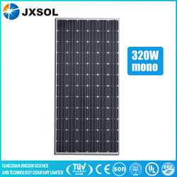 A grade solar cell good price solar panel 320w mono made in china