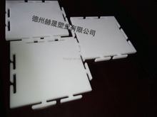 HDPE & UHMWPE roller skating rink flooring board/ UHMWPE & HDPE Synthetic ice rink for roller skating