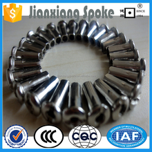 Galvanized zinc plated UCP CP ED super quality bicycle spokes and nipple