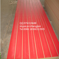 melamine covered slot board/slat wall