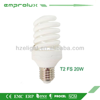Energy Saving Light T2 Full Spiral 20W E27 CFL Lamp Bulb