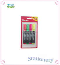 promotional flat kid plastic colorful marker pen
