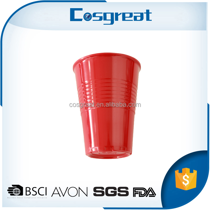 Custom logo printed reusable melamine double walled thermal plastic cup