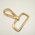 Gold Color Metal Hook For leather Handbag Belt Alloy Bag Hanger Hook