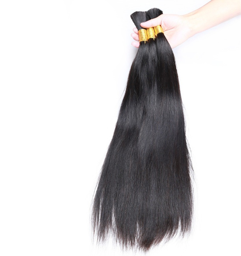 Best Hair Factory Cheap Price Dropship Wholesale Human Hair Brazilian Virgin Human Hair Bulk Without Weft for sale