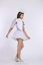 sexy woman beauty angel wing hallowmas role play cosplay costume