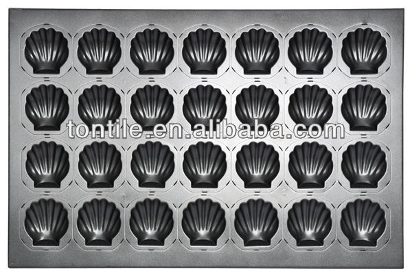 [Tontile]Baking Madeleine Mould-28 Indents(Silicone) SN9035