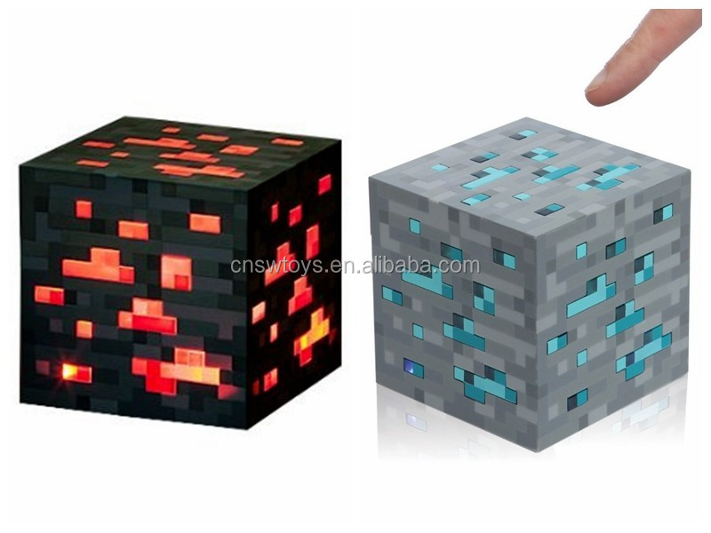 Think Geek Light-Up Diamond Ore