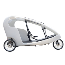 500watt Electric 3 Wheel Bike Taxi Car Pedicab, Two Passenger Loading Cheap Adult Tricycle