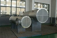 tubular heat exchanger.The custom of floating head type. tube plate. U type heat exchanger