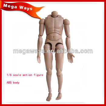 high quality ABS action figure body