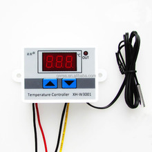 XH-W3001 Digital Temperature Thermostat Controller Switch 10A Cooling Heating DC 12V 24V AC 220V