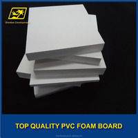 factory wholesale hardness surface board pvc core foam