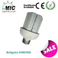 2014 HOT sale factory price 360 degree 3 years warranty CE, RoHS approved E27/E40 40w led corn light lamp warehouse
