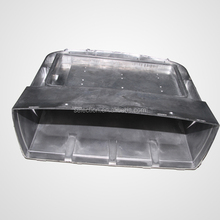 new custom-made zamak die casting led street light parts aluminum lamp shell from china
