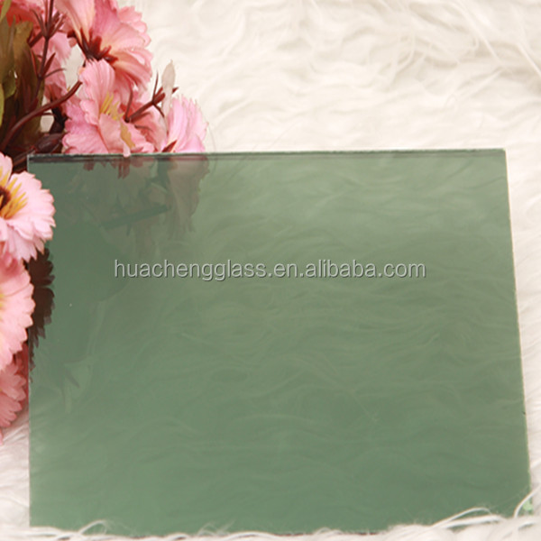1830*2440mm Dark green Reflective Glass Sheets