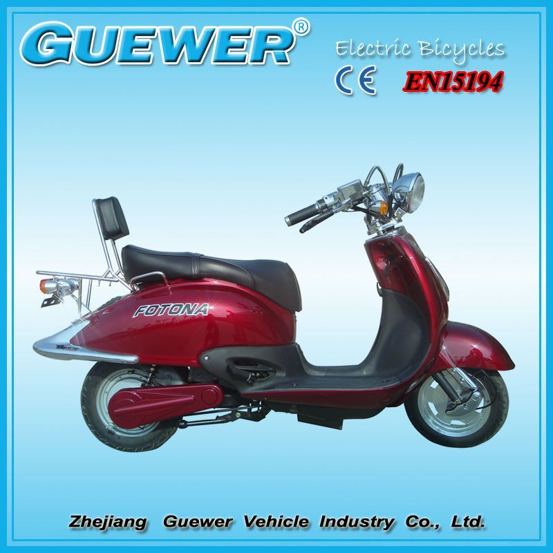 GUEWER EEC certificated China cheap price electric scooter moped