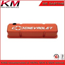 OEM customized painting die casting aluminum valve covers