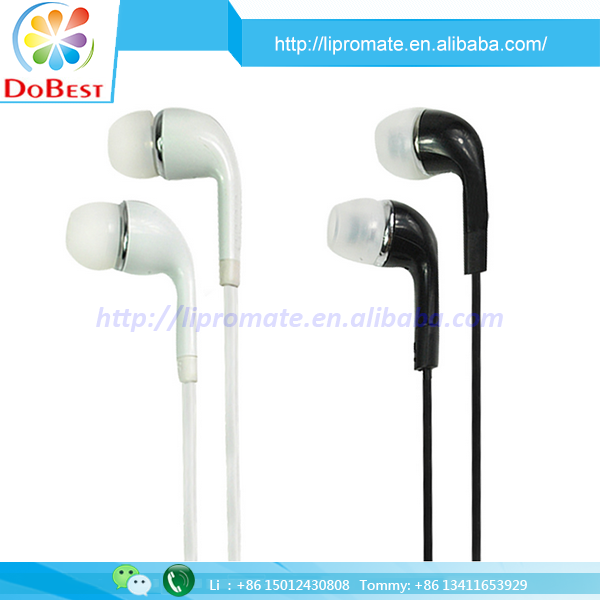 2017 OEM 3.5mm earphone plug promotional earphone for samsung s3