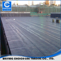 China roofing waterproof material bitumen rubber sheets
