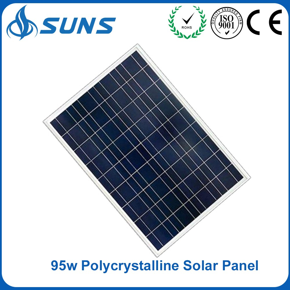 Excellent quality 95w Polycrystalline pv solar panel for house
