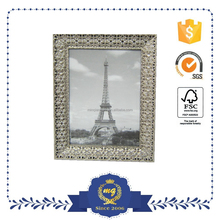 decorative metal landscape photo frame 10x15 for home decoration