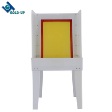 hot selling screen washout machine used for washing silk frame