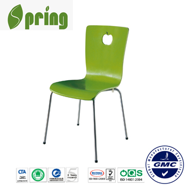 2014 modern school desk and chair, plastic chair CT-W02(2)
