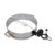 Deluxe Stainless steel Barbecue Stacker for Charcoal Kettle Rotisserie Ring for Weber and All 57cm