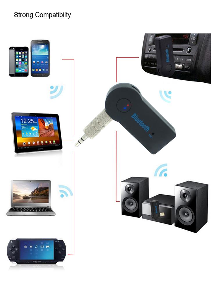 EDR + 3.0 Bluetooth музыкальный приемник для радио аудио тв смартфон