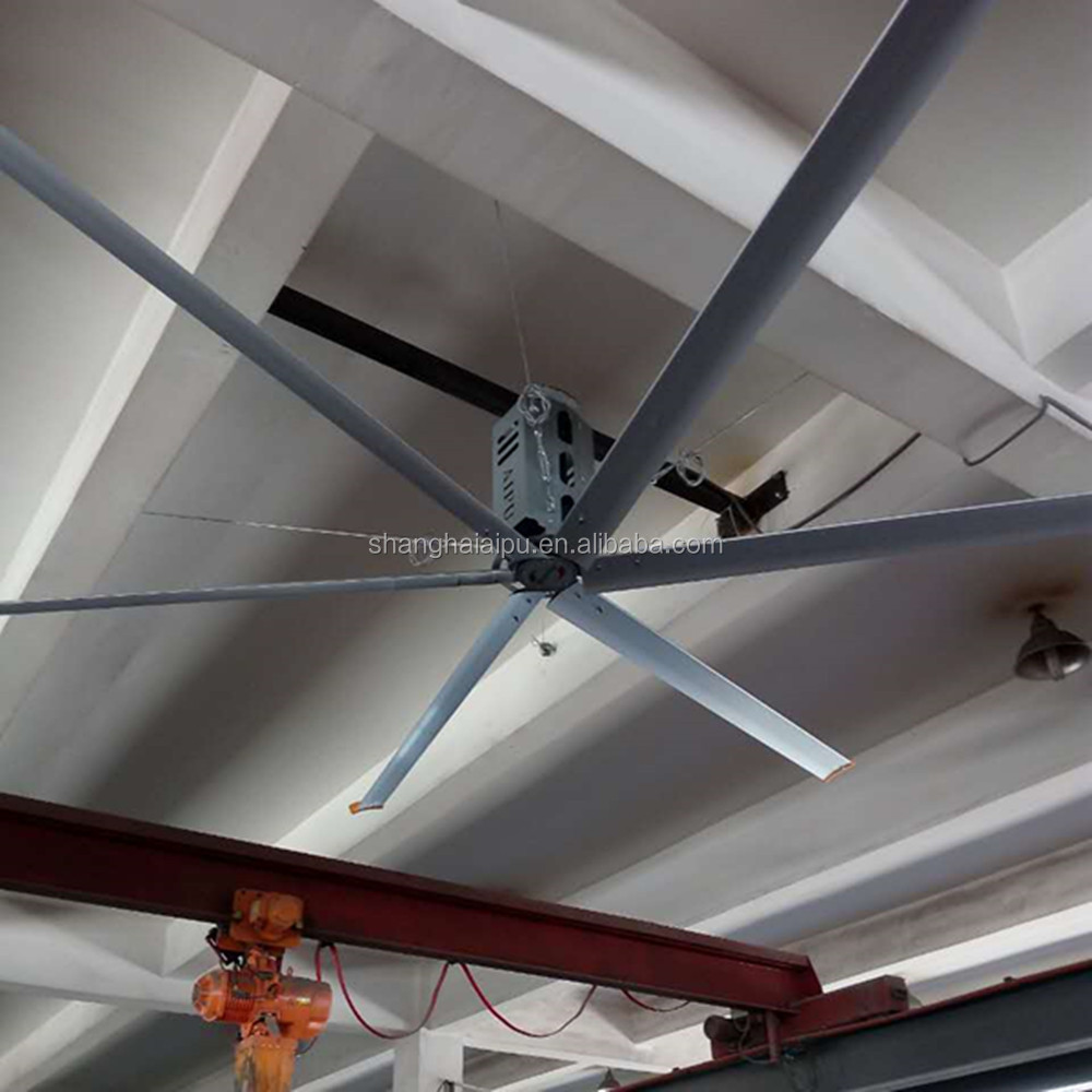 26FT 8m Africa Hot Air Blower Cooling Cheap Price Giant HVLS Ceiling Fan for Industrial