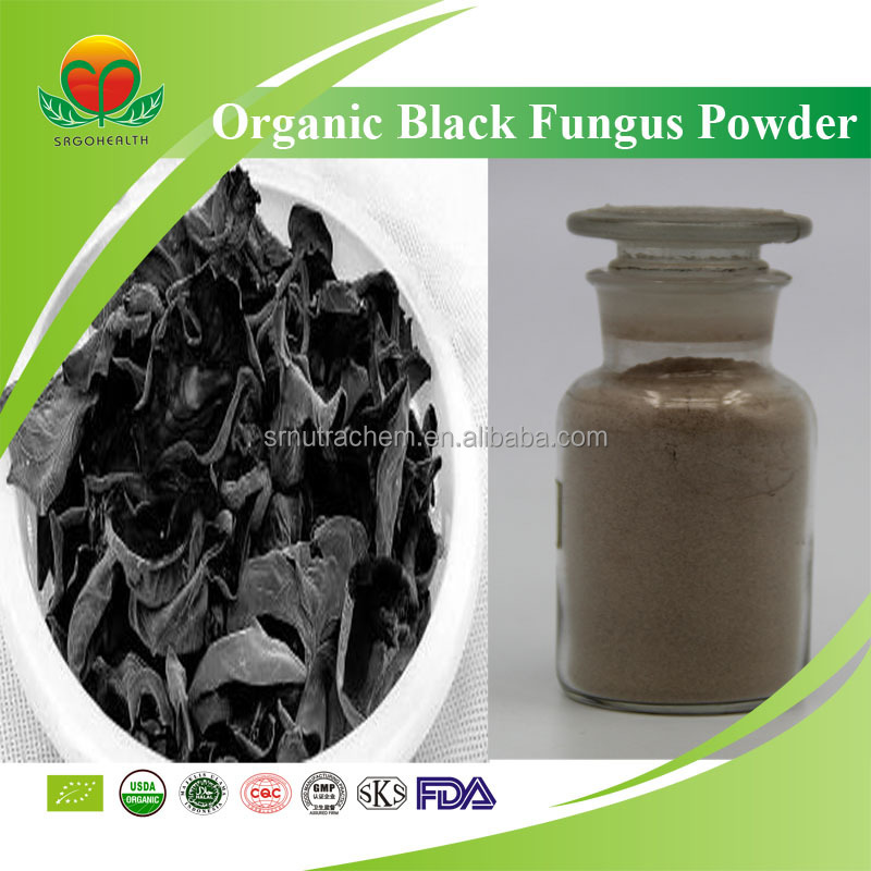 High Quality EU/NOP Certificated Organic Black Fungus Powder