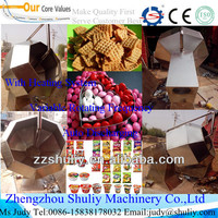 Newly disc dried vegetables flavoring machine fried french fries seasoning machine