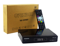 radio receiver Openbox v8 combo small transmitter and receiver wiztech digital satellite receiver