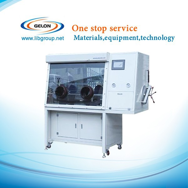 glove box for lithium battery,lithium ion battery grade glove box,h2o&o2 index less than 1ppm