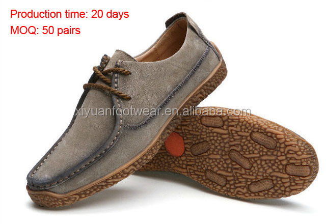 Original Design Stock Men Breath Casual Shoes With Rubber Sole