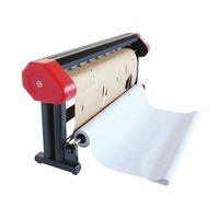 Standing wide format inkjet garment cutter for apparel patterns