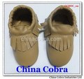 soft sole leather baby moccasins shoes without the characters on them with fringe on them