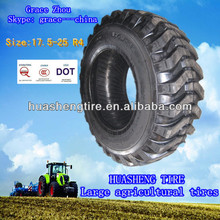 Weifang tire Bias large rubber tyre 17.5-25 R4 with DOT certificate