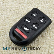 Hot sale key Fob 6button850G-G8D399HA for Honda Odyssey car key remote key fob l