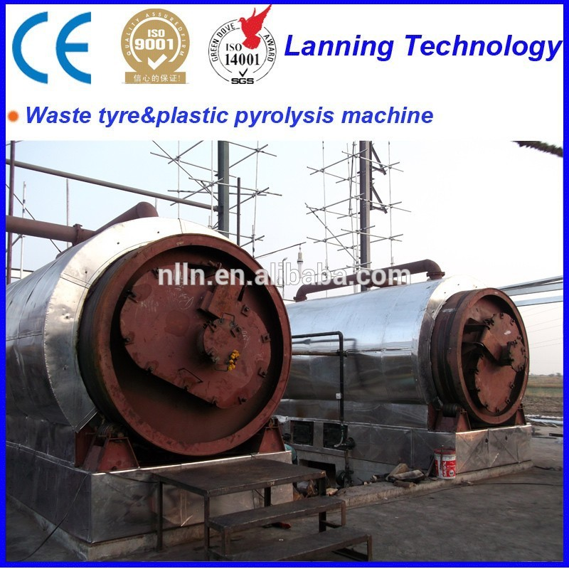 Hot sale New design Eco- friendly high profits PE Plastic Recycling machine with 50% oil output