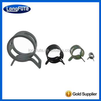 High quality stainless steel spring hose clamp