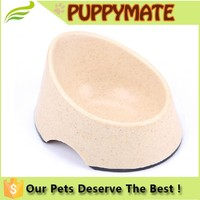 Wholesale Fashional Ecofriendly Bamboo Fiber Pet Bowl, Dog Bowls for Sale