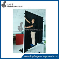 Topfinger wedding pipe and drape wholesale pipe and drape with adjustable crossbar