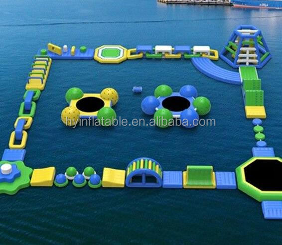 Popular water games large a set inflatable water toys for the lake