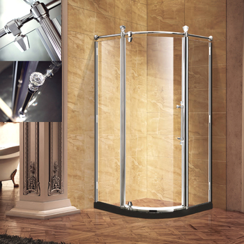 Best Selling Circular Luxury Shower Cabin with Crystal decoration
