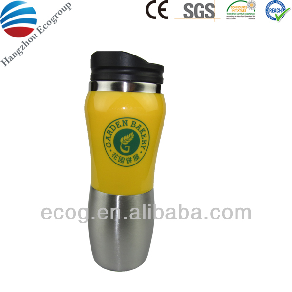 Wholesale cheap promotional stainless steel travel mug inserts